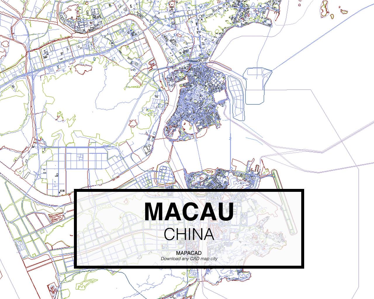 Download Macau Dwg Mapacad