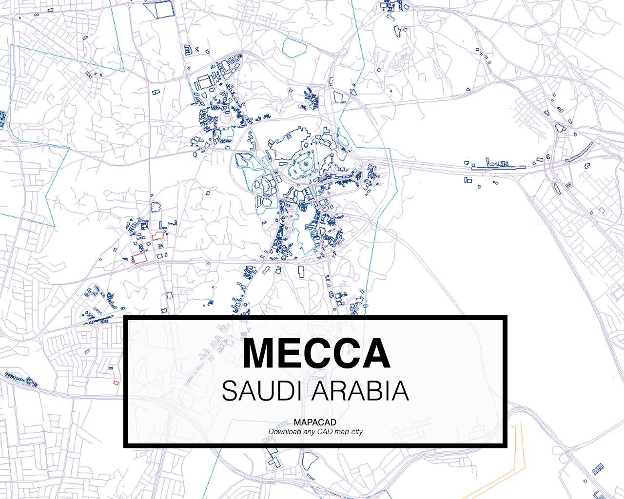 Download Mecca DWG - Mapacad