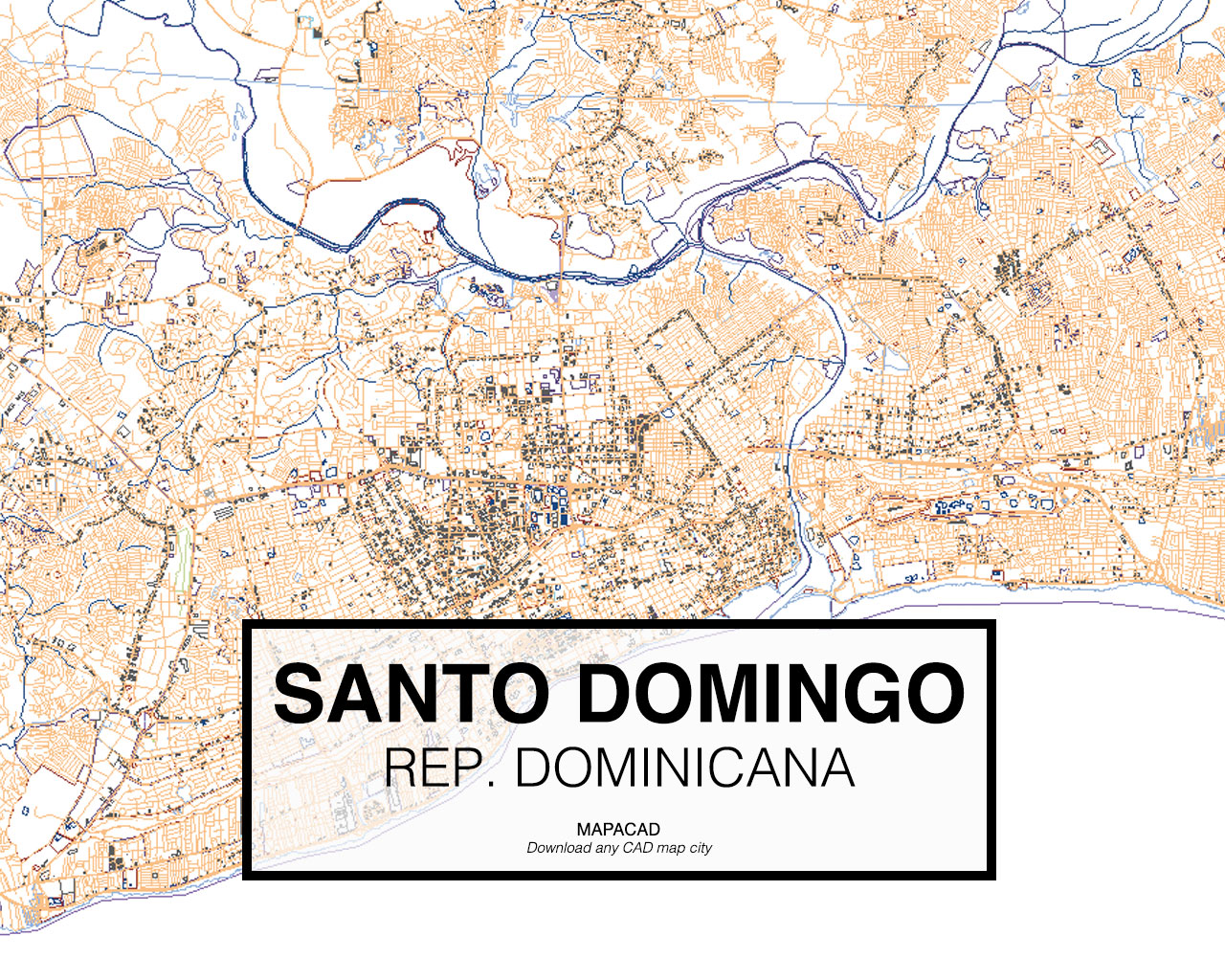 Download kingstondwg mapacad santo domingo republica dominicana 01 mapacad download map gumiabroncs Images