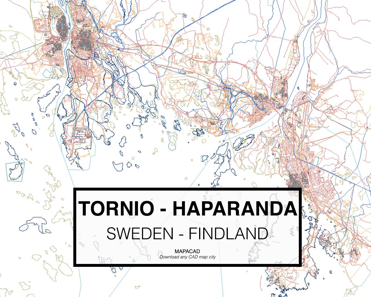 Download Tornio Haparanda Dwg Mapacad