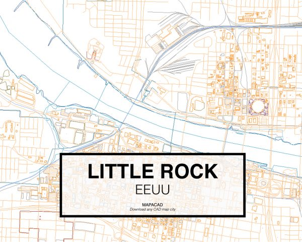 Little-Rock-EEUU-03-Mapacad-download-map-cad-dwg-dxf-autocad-free-2d-3d