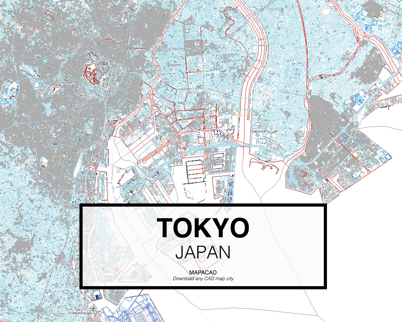 Download any cad map city mapacad tokyo japan 01 mapacad download map cad dwg gumiabroncs Image collections