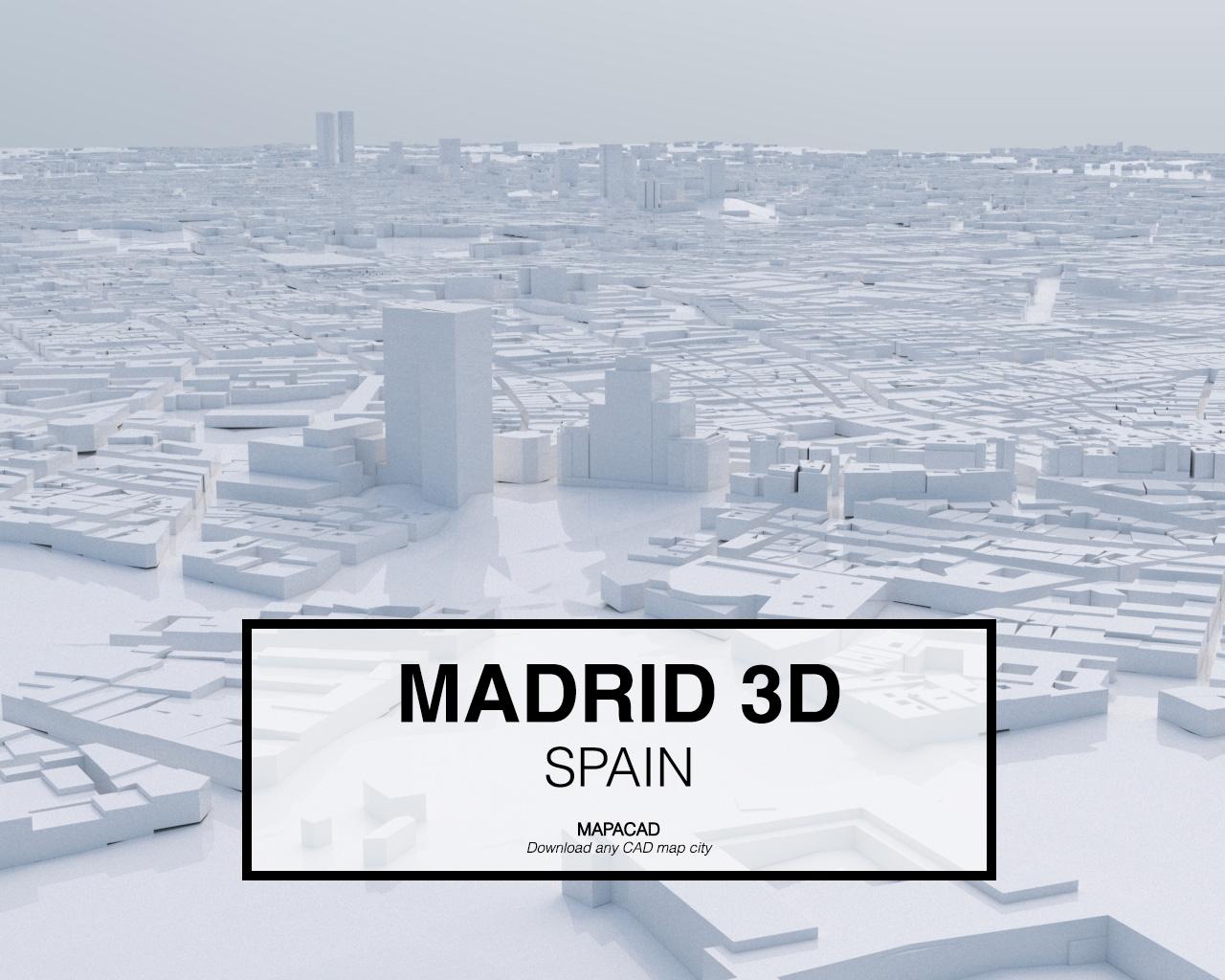 Madrid 3D