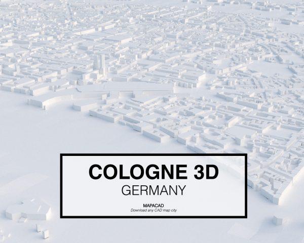 Cologne-04-3D-model-download-printer-architecture-free-city-buildings-OBJ-vr-mapacad