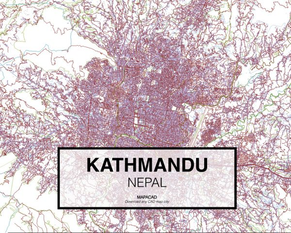 Kathmandu-Nepal-01-Mapacad-download-map-cad-dwg-dxf-autocad-free-2d-3d