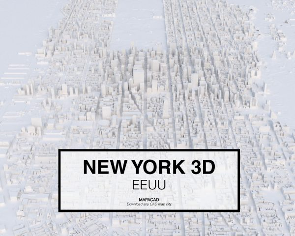 New York-02-3D-model-download-printer-architecture-free-city-buildings-OBJ-vr-mapacad