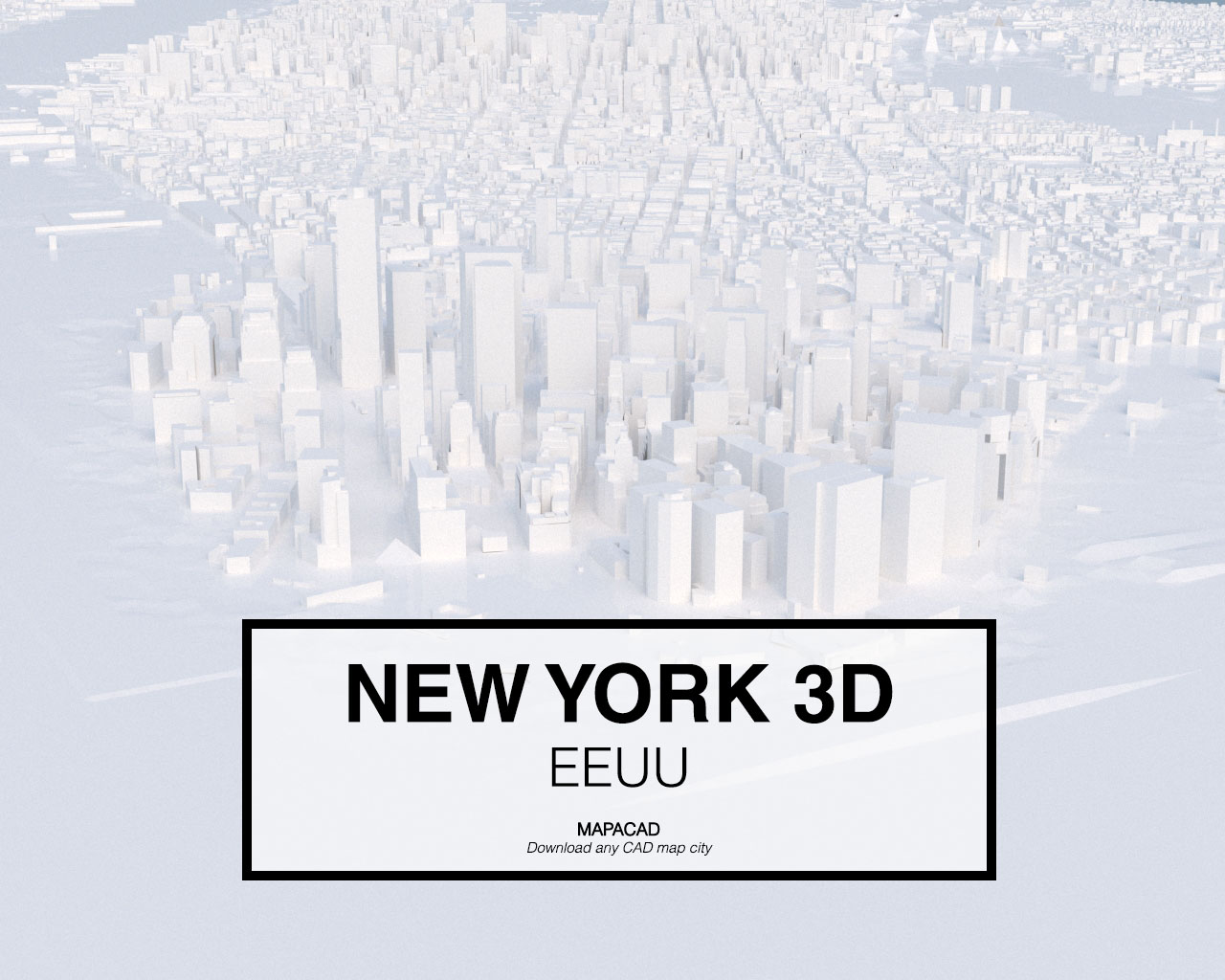 Download New York 3d Model Obj Mapacad