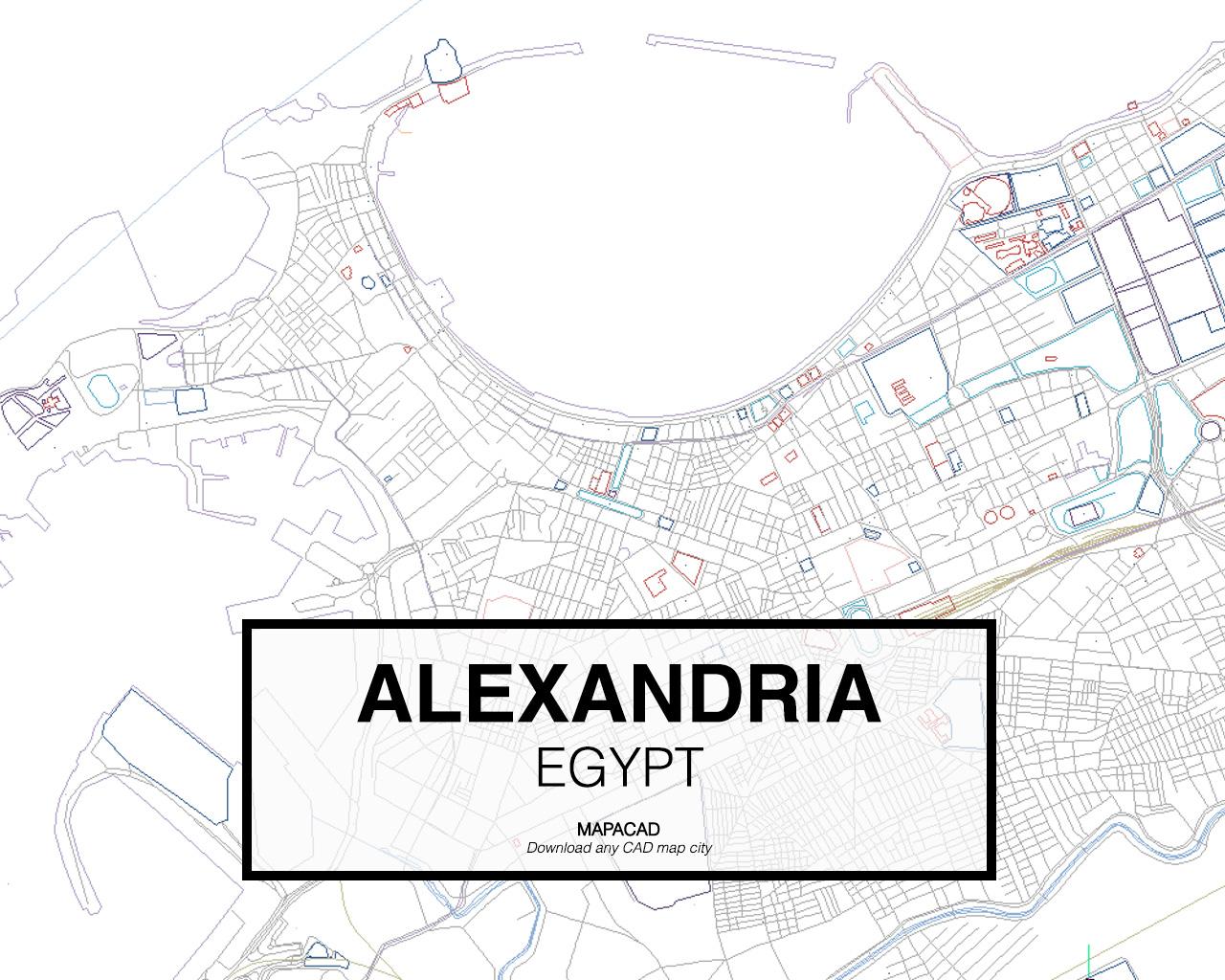 Download Alexandria DWG - Mapacad