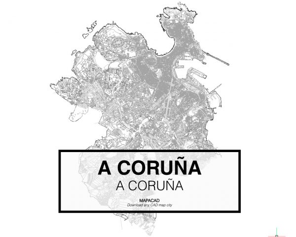 A Coruña-A Coruña-01-Mapacad-download-map-cad-dwg-dxf-autocad-free-2d-3d