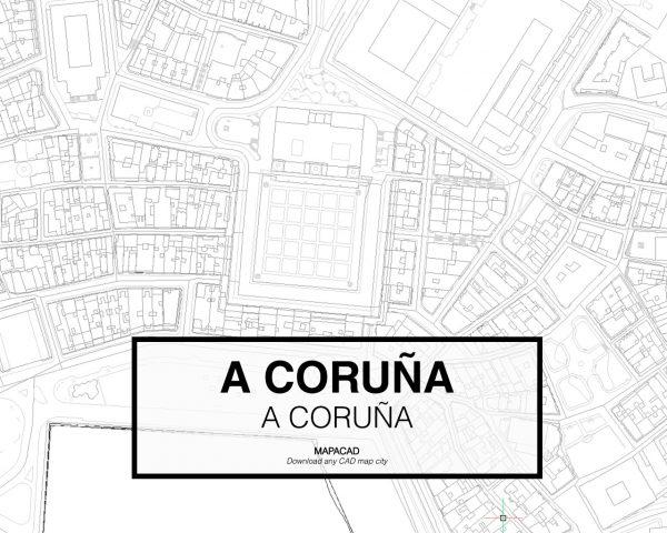 A Coruña-A Coruña-03-Mapacad-download-map-cad-dwg-dxf-autocad-free-2d-3d