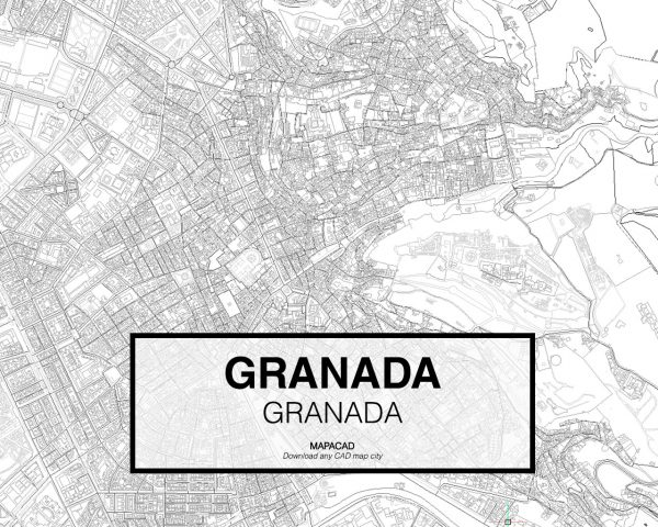 Granada-Granada-02-Mapacad-download-map-cad-dwg-dxf-autocad-free-2d-3d