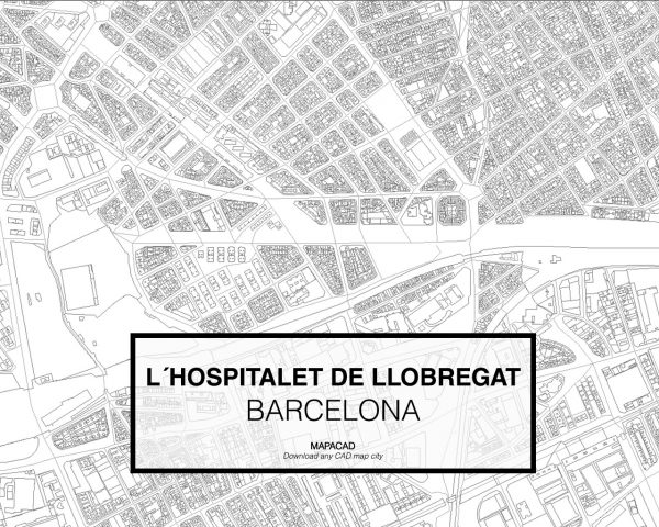Hospitalet de LLobregat-Barcelona-02-Mapacad-download-map-cad-dwg-dxf-autocad-free-2d-3d