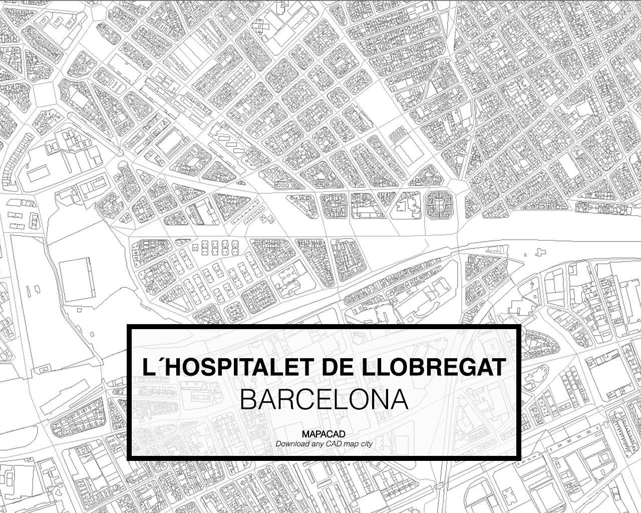 L Hospitalet De Llobregatdwg Mapacad