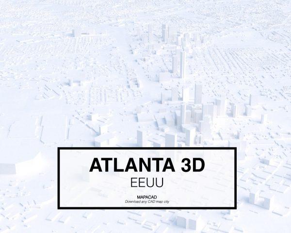Atlanta-01-3D-model-download-printer-architecture-free-city-buildings-OBJ-vr-mapacad