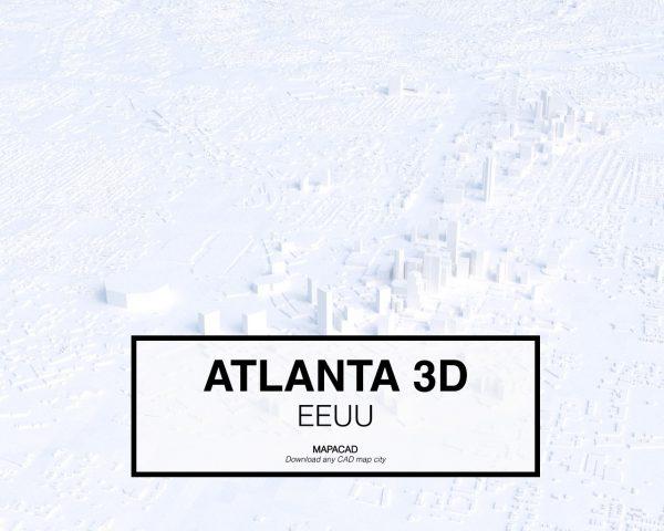 Atlanta-02-3D-model-download-printer-architecture-free-city-buildings-OBJ-vr-mapacad