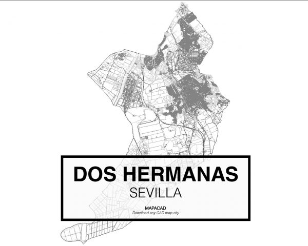Dos Hermanas-Sevilla-01-Cartografia-Mapacad-download-map-cad-dwg-dxf-autocad-free-2d-3d