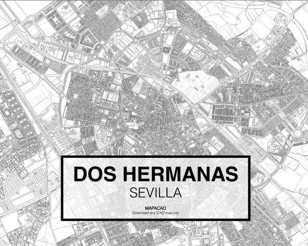 Dos Hermanas-Sevilla-02-Cartografia-Mapacad-download-map-cad-dwg-dxf-autocad-free-2d-3d