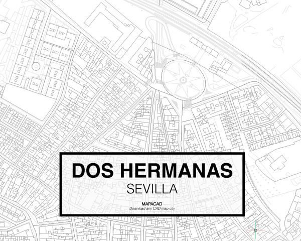 Dos Hermanas-Sevilla-03-Cartografia-Mapacad-download-map-cad-dwg-dxf-autocad-free-2d-3d