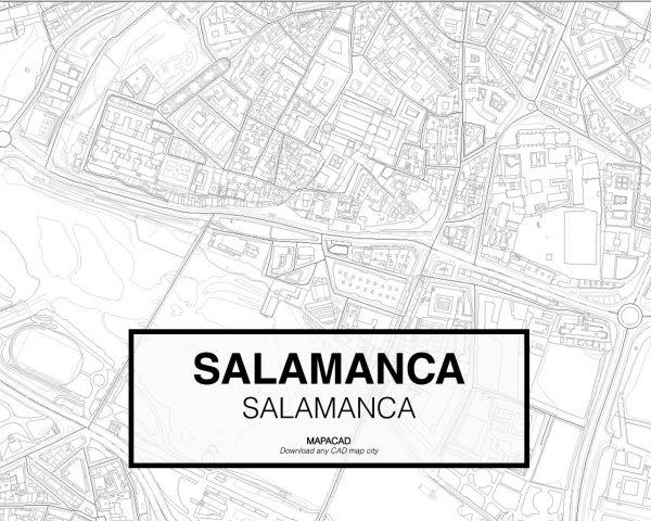 Salamanca-Castilla y Leon-02-Cartografia-Mapacad-download-map-cad-dwg-dxf-autocad-free-2d-3d
