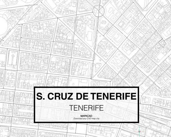 Santa Cruz de Tenerife-03-download-map-cad-dwg-dxf-autocad-free-2d-3d
