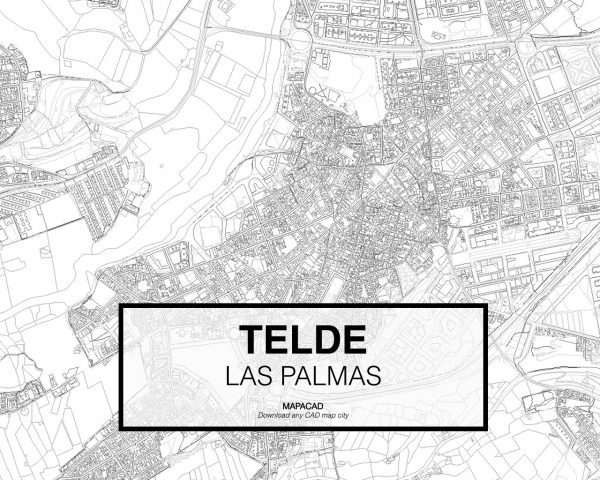 Telde-Las Palmas-02-Mapacad-download-map-cad-dwg-dxf-autocad-free-2d-3d