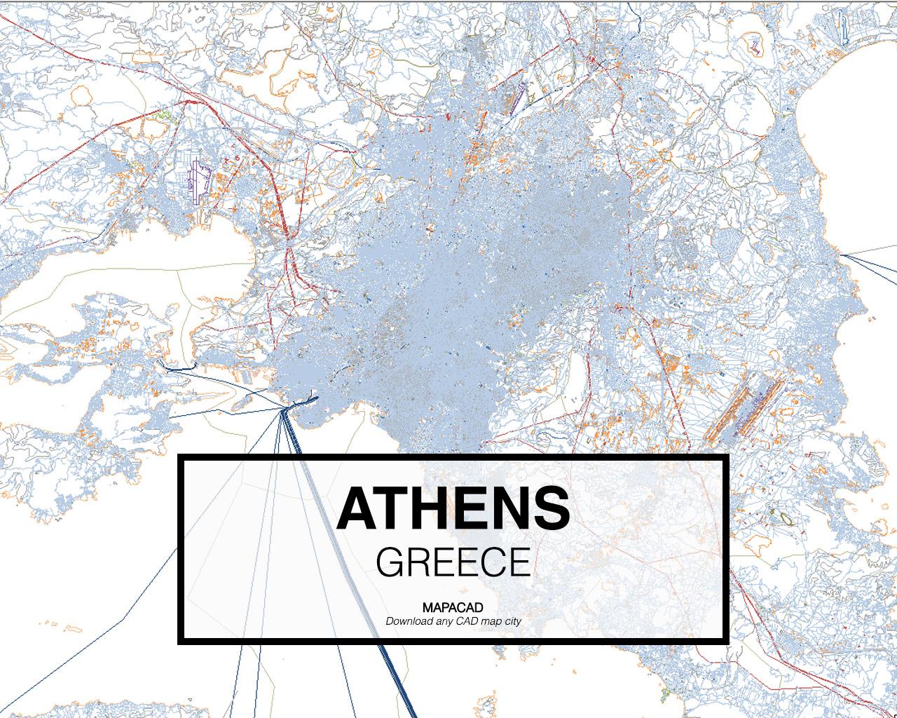 Athens Dwg Mapacad