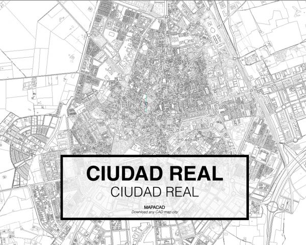 Ciudad Real-Castilla La Mancha-02-Mapacad-download-map-cad-dwg-dxf-autocad-free-2d-3d