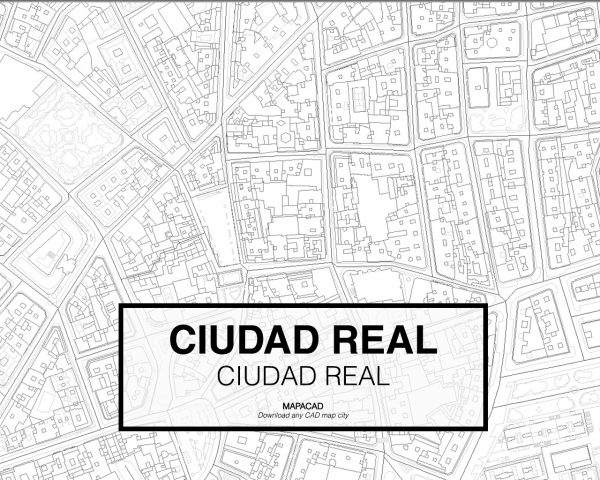 Ciudad Real-Castilla La Mancha-03-Mapacad-download-map-cad-dwg-dxf-autocad-free-2d-3d