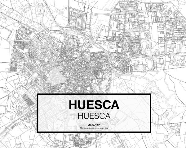 Huesca-Aragon-02-Mapacad-download-map-cad-dwg-dxf-autocad-free-2d-3d