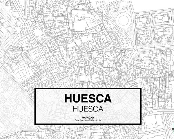 Huesca-Aragon-03-Mapacad-download-map-cad-dwg-dxf-autocad-free-2d-3d
