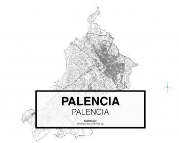 Palencia-Castilla Leon-01-Mapacad-download-map-cad-dwg-dxf-autocad-free-2d-3d