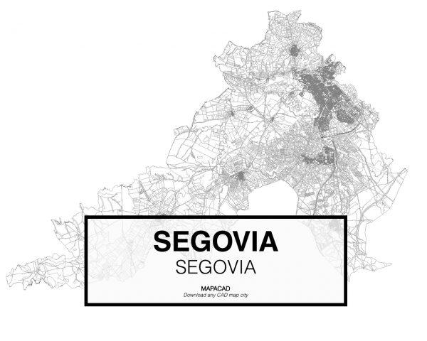 Segovia-Castilla Leon-01-Mapacad-download-map-cad-dwg-dxf-autocad-free-2d-3d