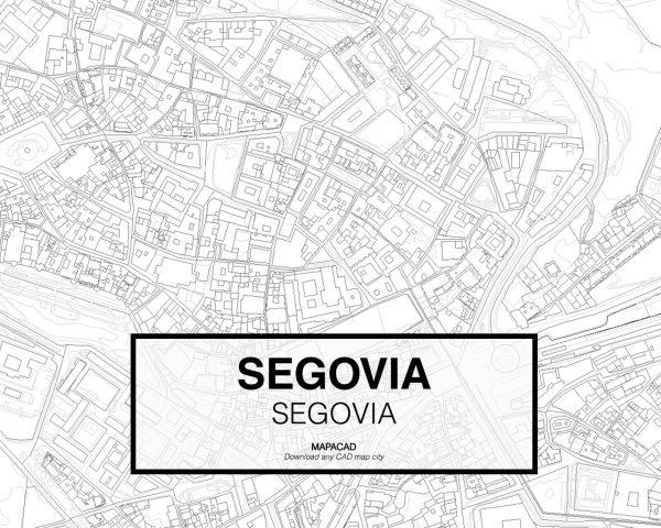 Segovia-Castilla Leon-03-Mapacad-download-map-cad-dwg-dxf-autocad-free-2d-3d
