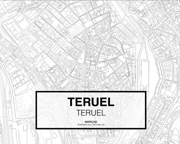 Teruel-Aragon-03-Mapacad-download-map-cad-dwg-dxf-autocad-free-2d-3d