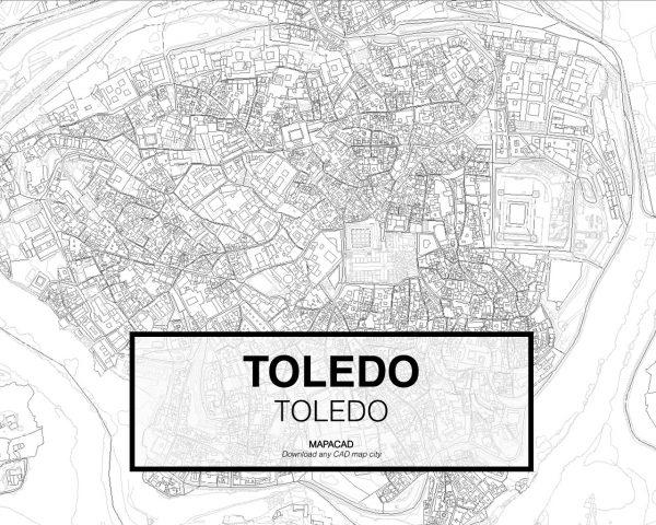 Toledo-Castila Mancha-02-Mapacad-download-map-cad-dwg-dxf-autocad-free-2d-3d