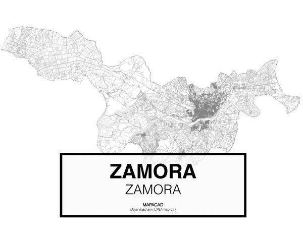 Zamora-Castilla Leon-01-Mapacad-download-map-cad-dwg-dxf-autocad-free-2d-3d
