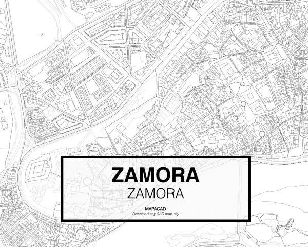 Zamora-Castilla Leon-03-Mapacad-download-map-cad-dwg-dxf-autocad-free-2d-3d