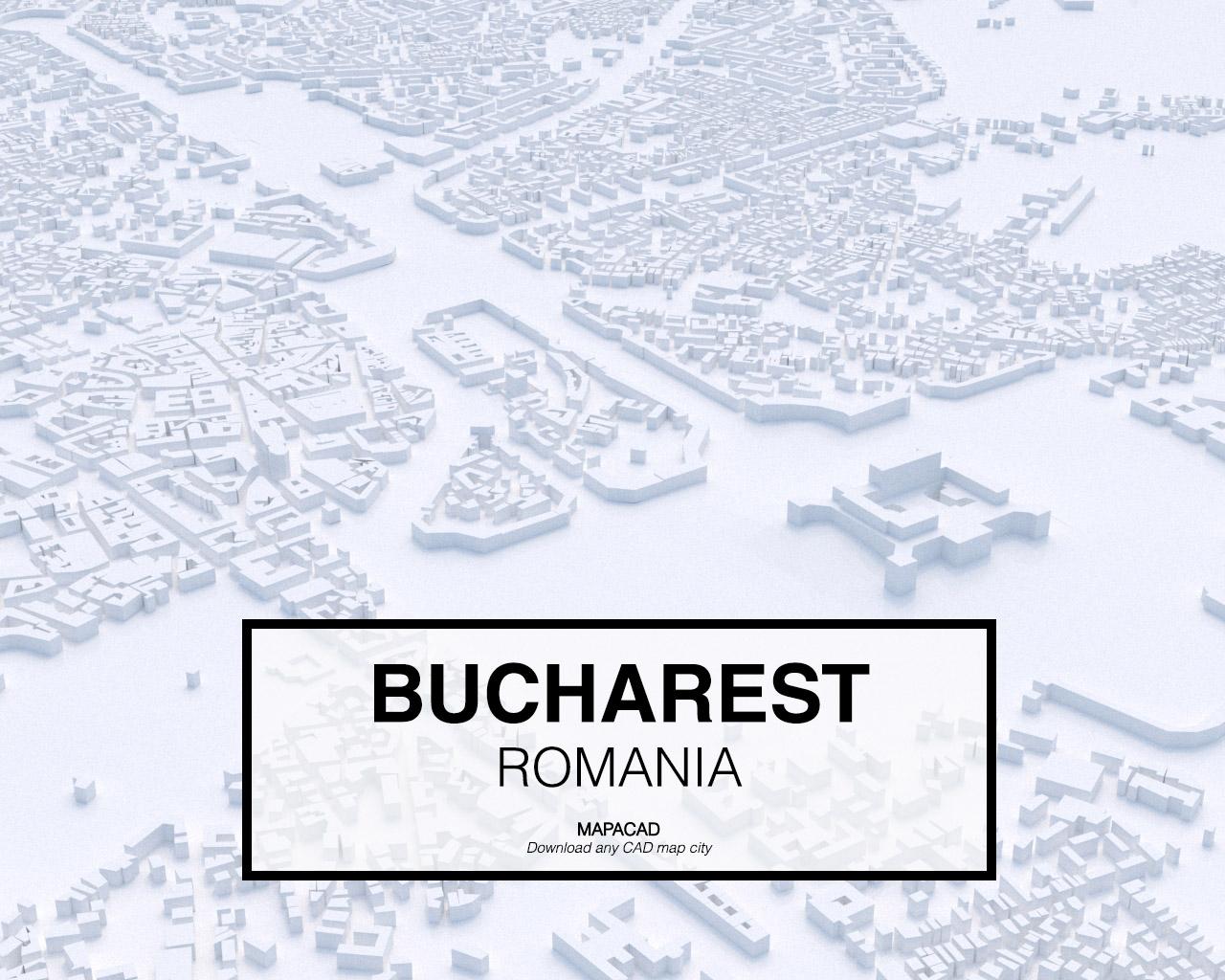 Bucharest 3D