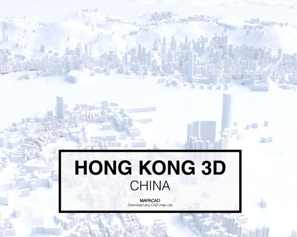 Hong Kong-China-03-3D-Mapacad-download-map-cad-dwg-dxf-autocad-free-printer