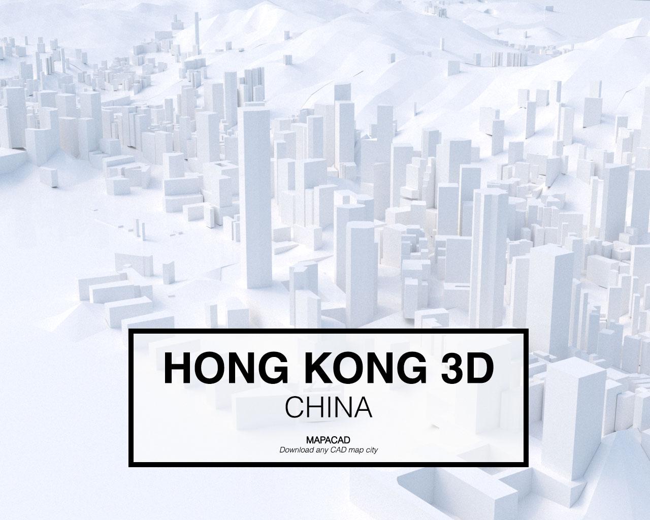 Hong Kong 3D