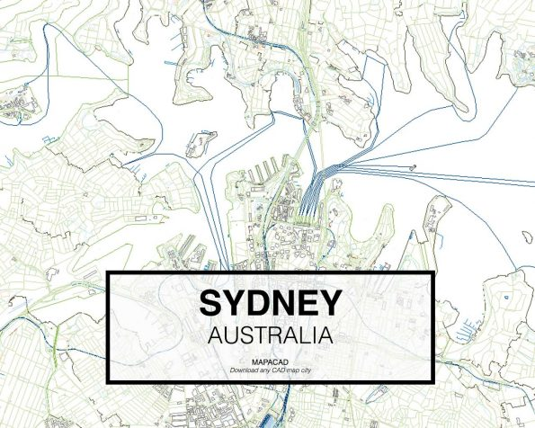 Sydney-Australia-02-Mapacad-download-map-cad-dwg-dxf-autocad-free-2d-3d-low