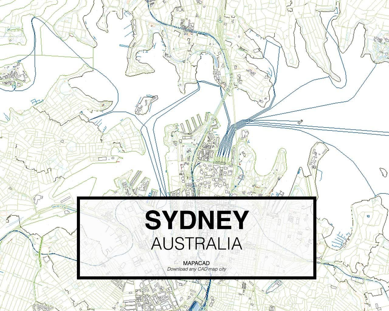 Sydney On Australia Map.Sydney