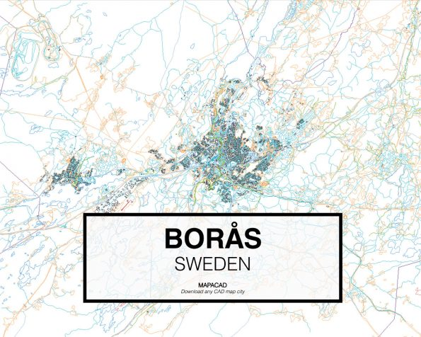 Borås-Sweden-01-Mapacad-download-map-cad-dwg-dxf-autocad-free-2d-3d