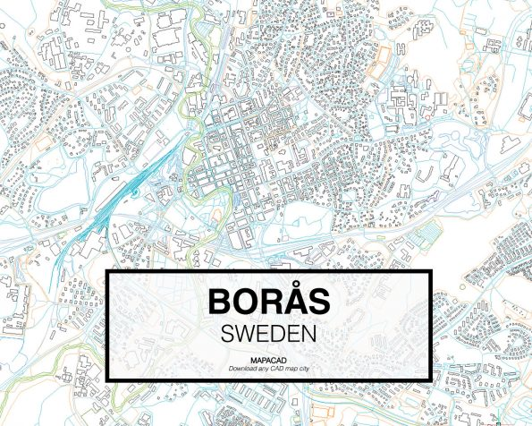 Borås-Sweden-02-Mapacad-download-map-cad-dwg-dxf-autocad-free-2d-3d