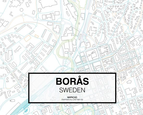 Borås-Sweden-03-Mapacad-download-map-cad-dwg-dxf-autocad-free-2d-3d