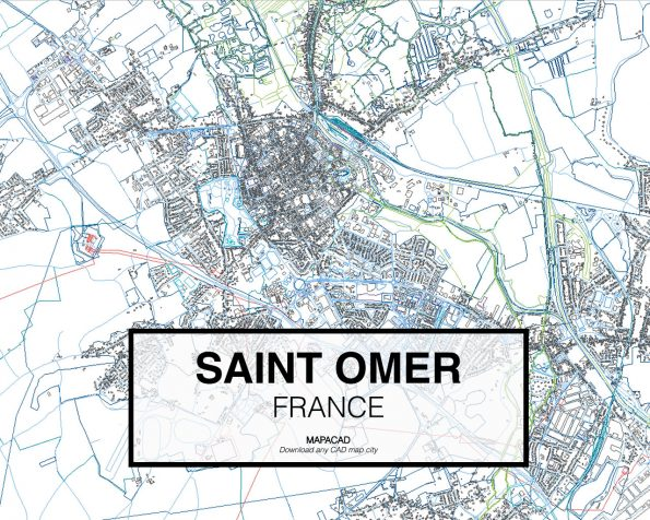 Saint-Omer-France-02-Mapacad-download-map-cad-dwg-dxf-autocad-free-2d-3d