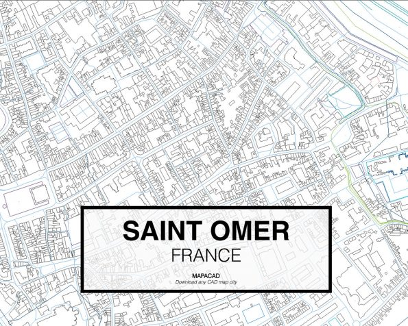 Saint-Omer-France-03-Mapacad-download-map-cad-dwg-dxf-autocad-free-2d-3d