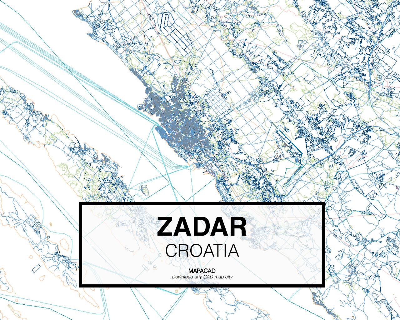 Zadar Dwg Mapacad