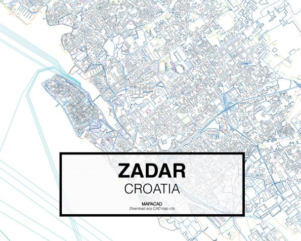 Zadar-Croatia-02-Mapacad-download-map-cad-dwg-dxf-autocad-free-2d-3d